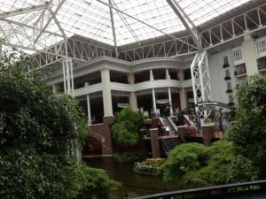 Inside the Gaylord Opryland Hotel, Nashville