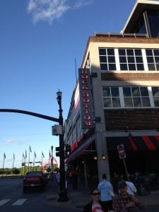 A Typical Bar on Broad Street. Nashville