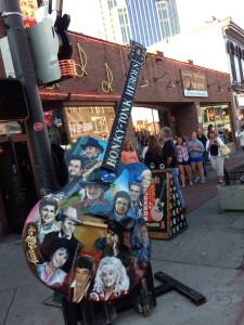 I am sure, a big tourist attraction, downtown Nashville.