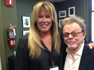 Me and Paul Williams.  I said to him,' I grew up seeing you on Johnny Carson' and he said, 'I was on 56 times, and I remember 8 of them!' Love him 4  his honesty!